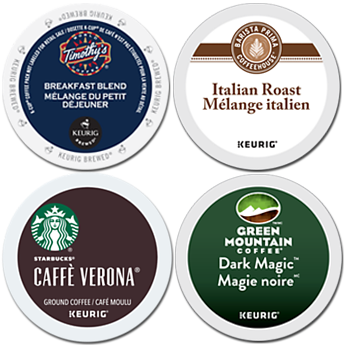 Keurig Coffees